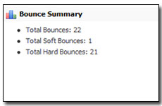 Detailed Bounce Reports